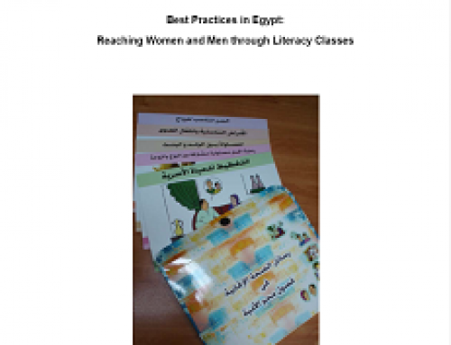 Best Practices in Egypt: Reaching Men and Women through Literacy Classes