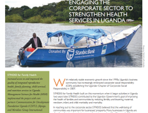Engaging the Corporate Sector to Strengthen Health Services in Uganda