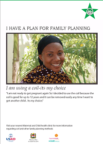 I Have a Plan for Family Planning (IUD)