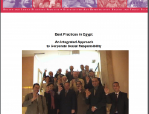Best Practices in Egypt: TAHSEEN Integrated Multisectoral FP Model: A Movement to Enable Adoption of Healthier RH/FP Behaviours