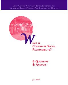 WhatisCorporateSocialResponsibility?