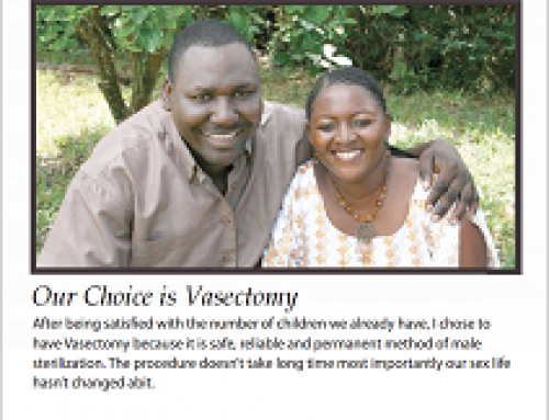 We Have a Plan for Family Planning (Male Vasectomy)