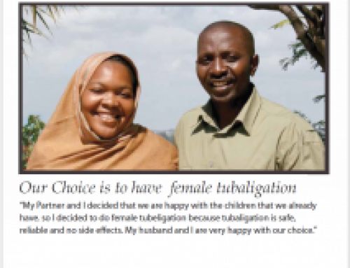 We Have a Plan for Family Planning (Female Tubaligation)